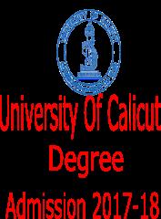 calicut-university-degree-admission-2017