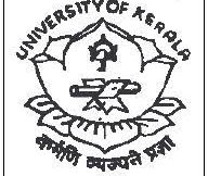 Kerala University degree admission 2018 registration