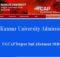 Kannur University Second Allotment 2018