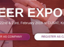 Career Expo Job Fair 2019 CUSAT Registration