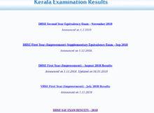 Kerala SSLC Result 2019 - Saphalam app, sms result
