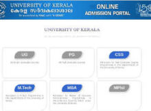 How to apply for Kerala University degree admission 2019 - UG application