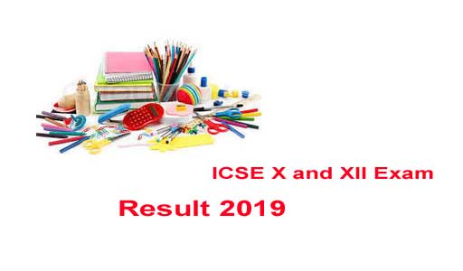 ICSE 10th and 12th Examination Result 2019