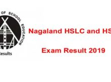Nagaland Board Exam 10th and 12th Result 2019