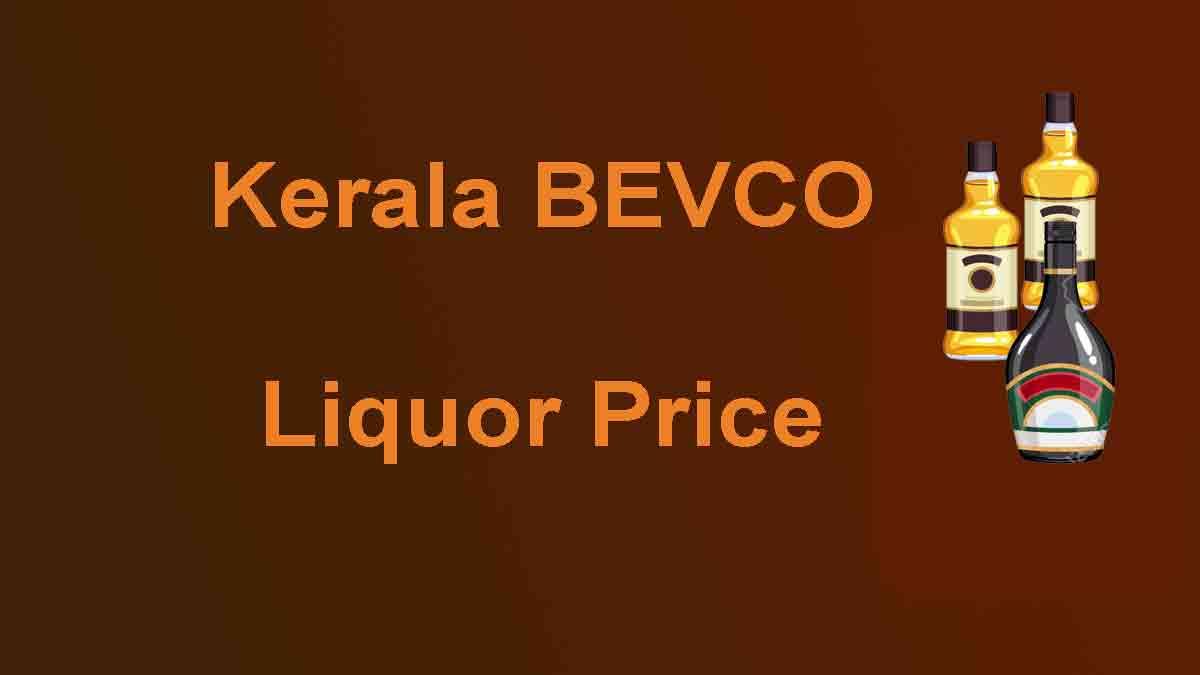 Bevco liquor price