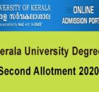 Kerala University Second Alloment