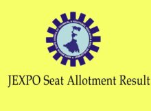 JEXPO Seat Allotment Result